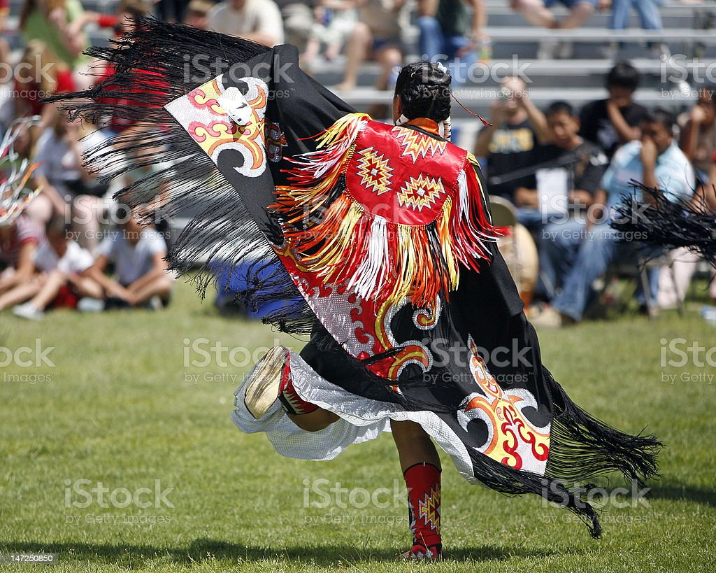 POW-WOW Dancer - Royalty-free Dancing Stock Photo