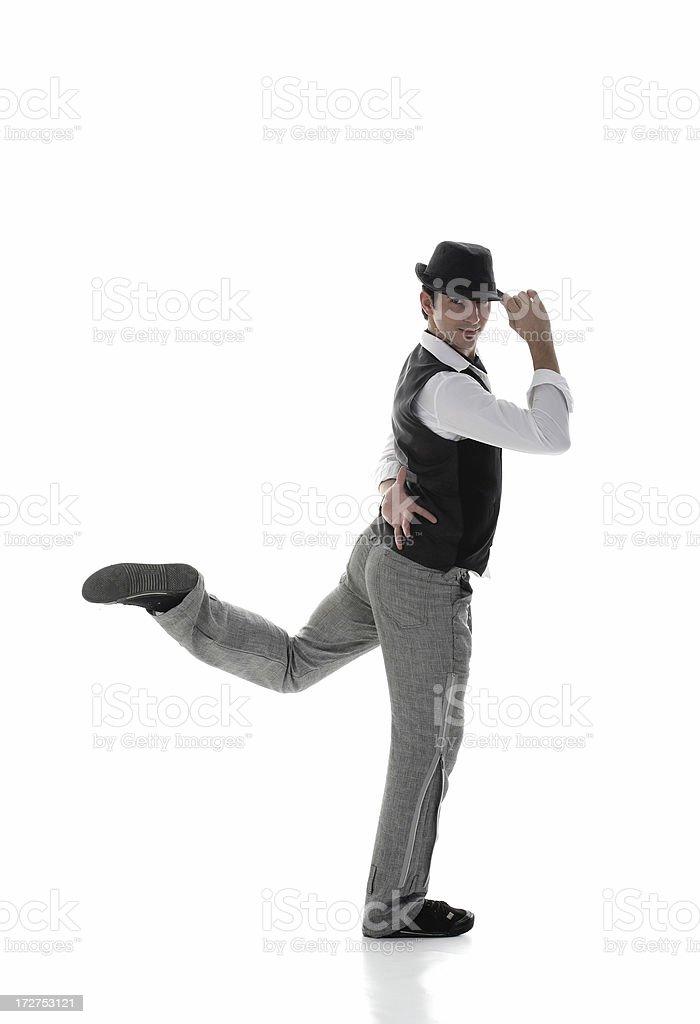 dancer royalty-free stock photo