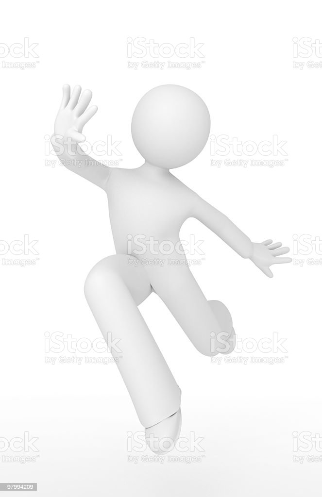 Dancer. royalty free stockfoto
