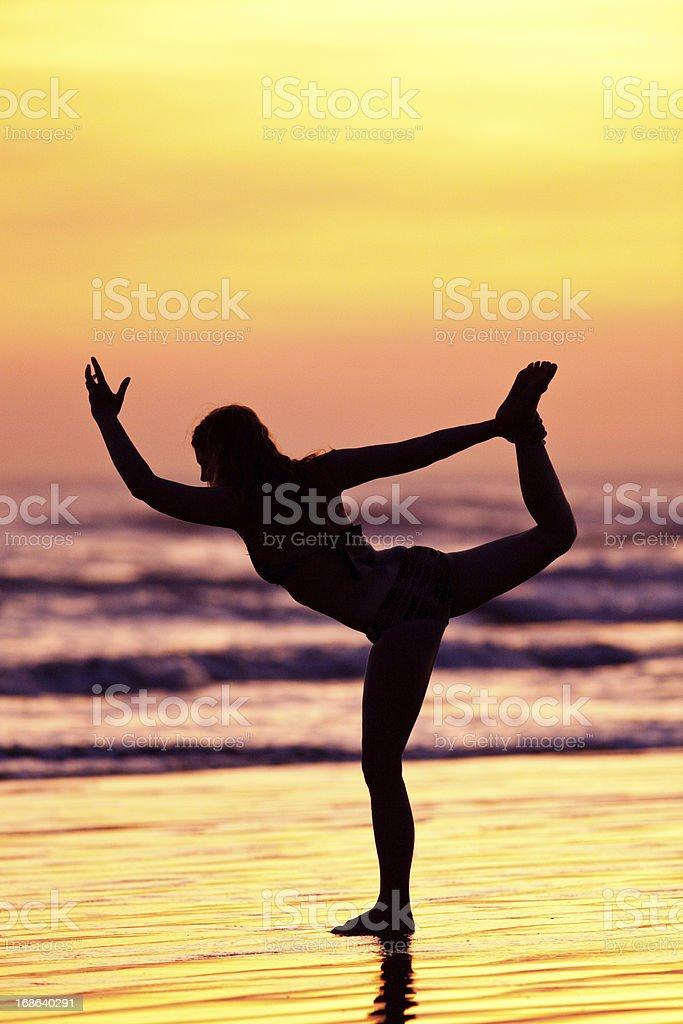 dancer pose royalty-free stock photo