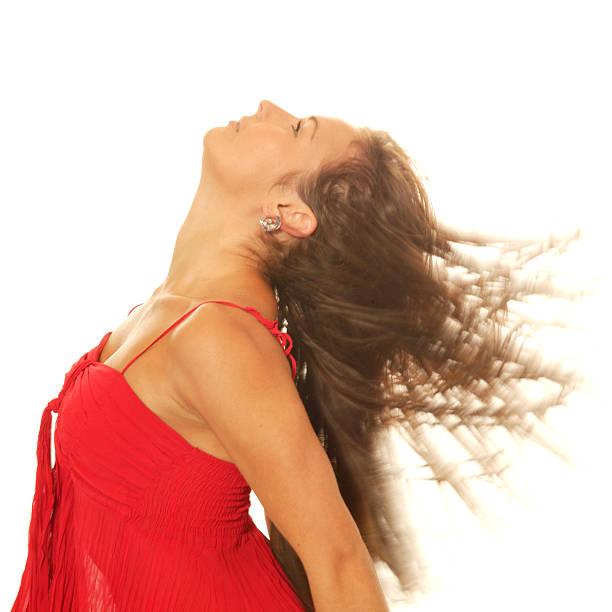 danseur lancer tête en arrière - black string photos et images de collection