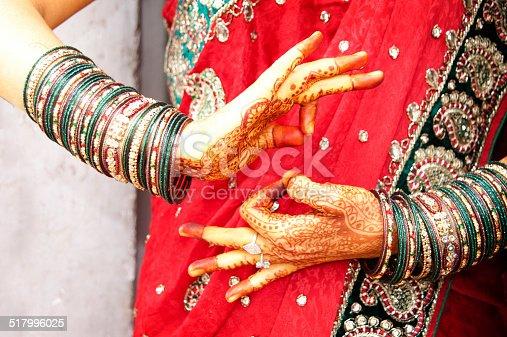 istock Dancer's hands 517996025
