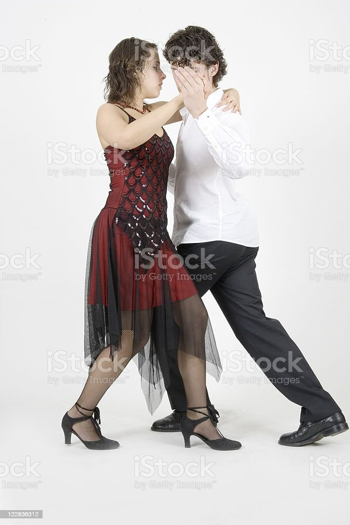 dancers royalty-free stock photo
