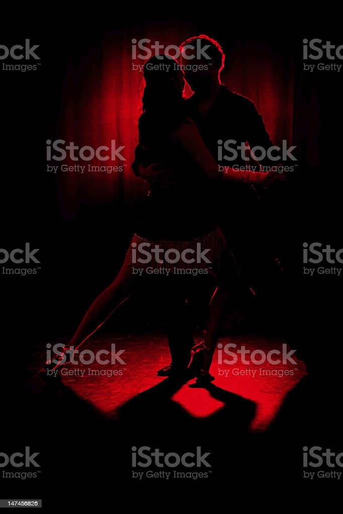 Dancers. royalty-free stock photo