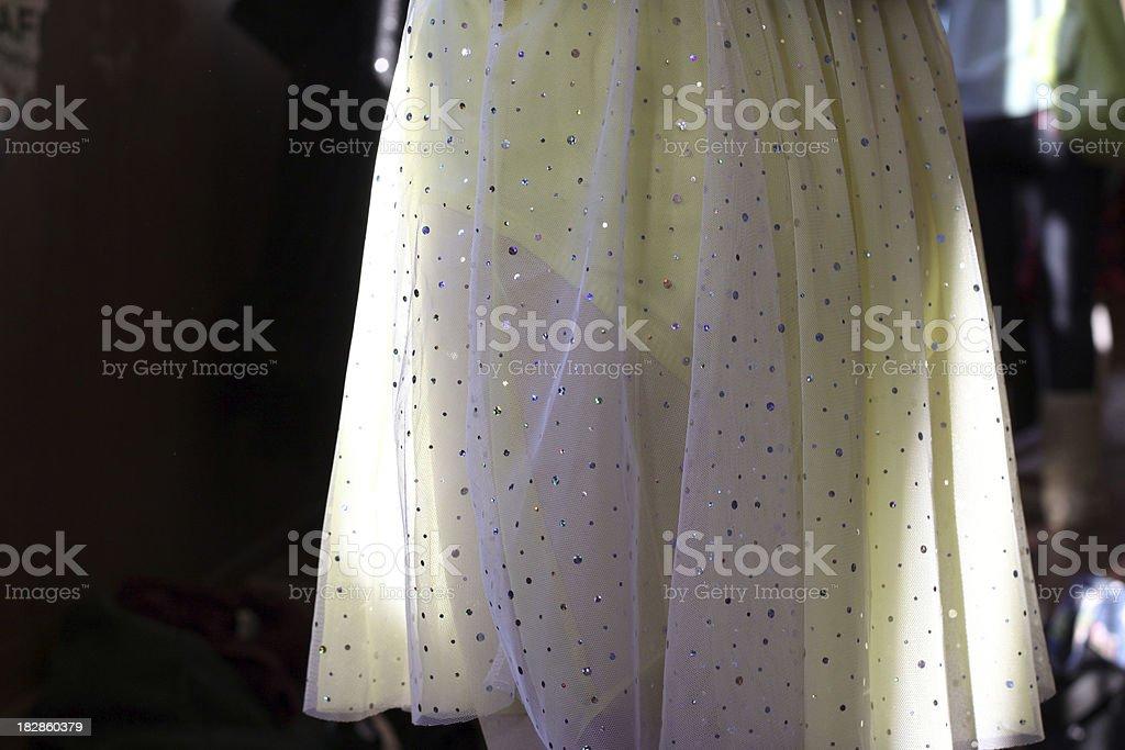 Dancer's Skirt stock photo