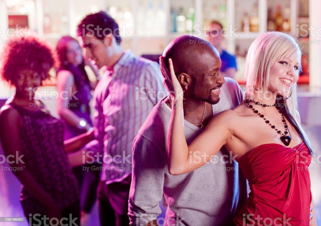 Dancing at a Nightclub royalty-free stock photo