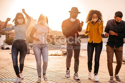 istock Dancing at dawn 1272487341