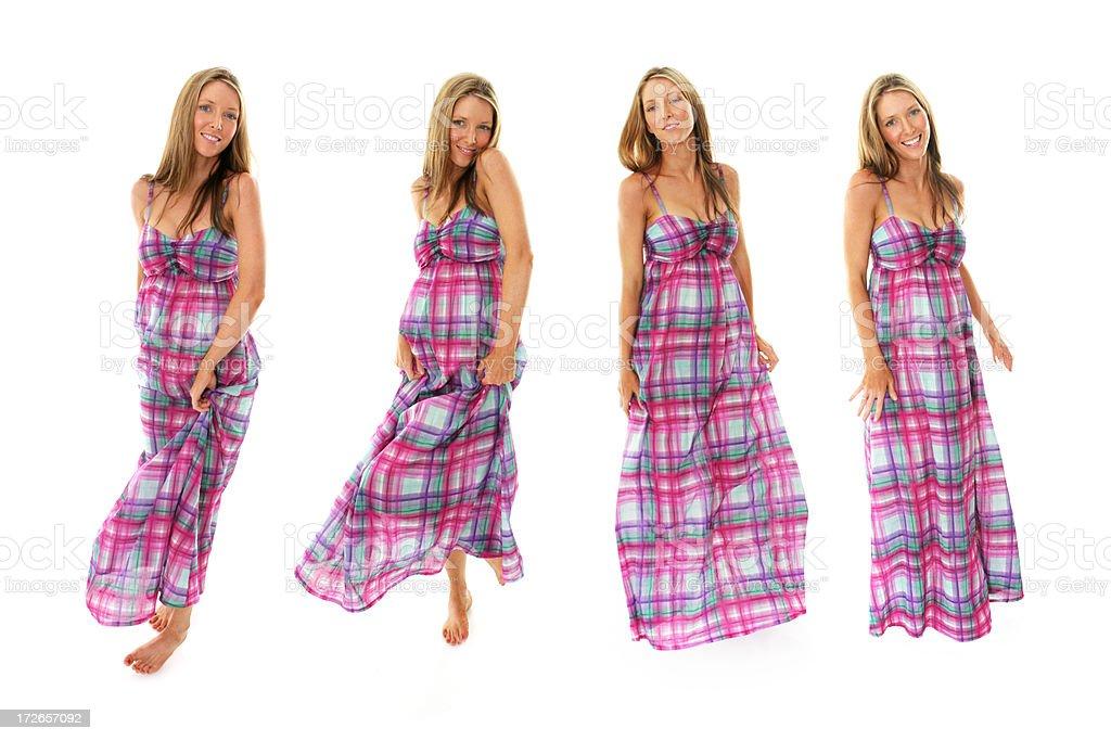 Dancing Beauty royalty-free stock photo