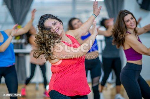 897892972 istock photo Dancing Class 1058837928