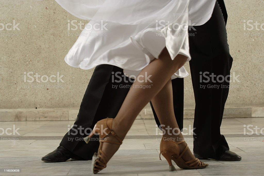 dancing couple stock photo