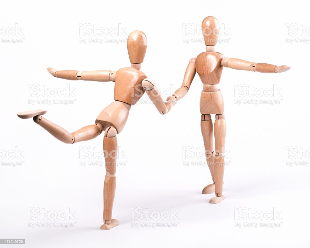Dancing Couple XL+ royalty-free stock photo