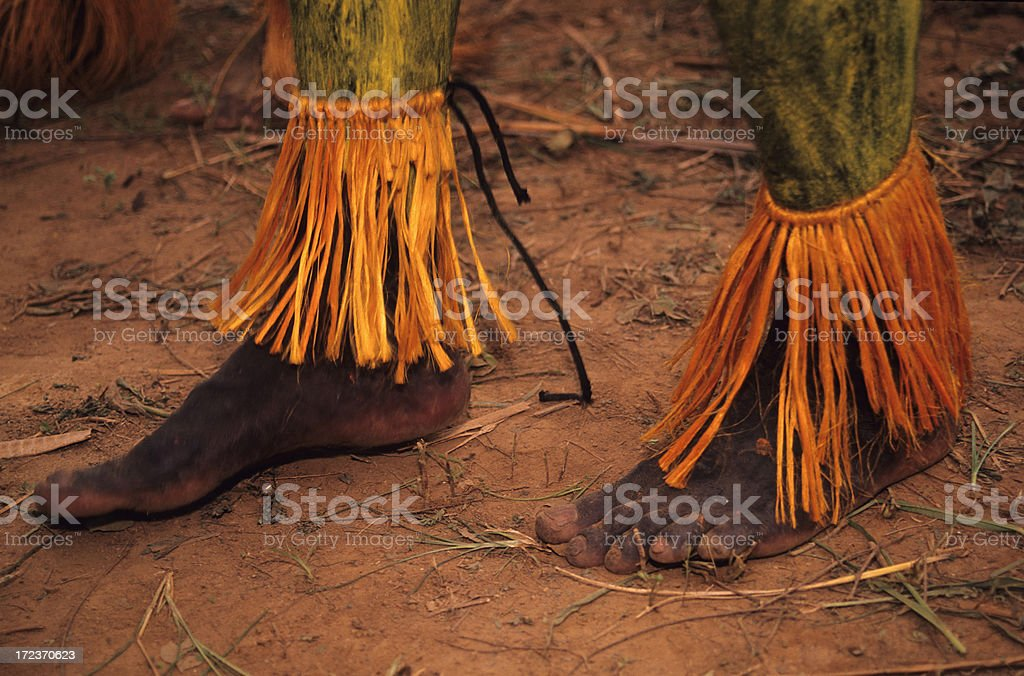 Dancing Feet royalty-free stock photo