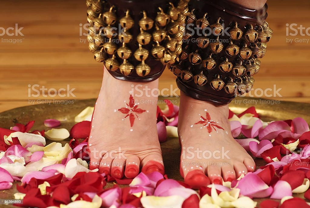 Dancing feet royalty-free stock photo
