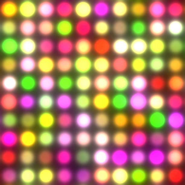 dancing floor lights (seamless texture) - dance floor stock photos and pictures