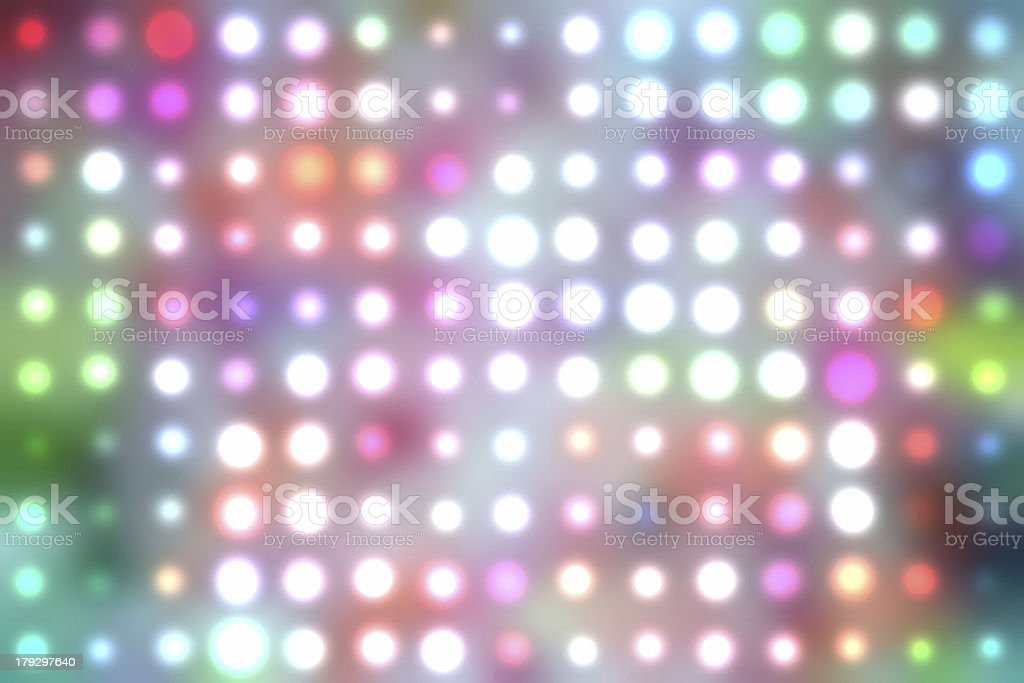 Dancing floor lights stock photo