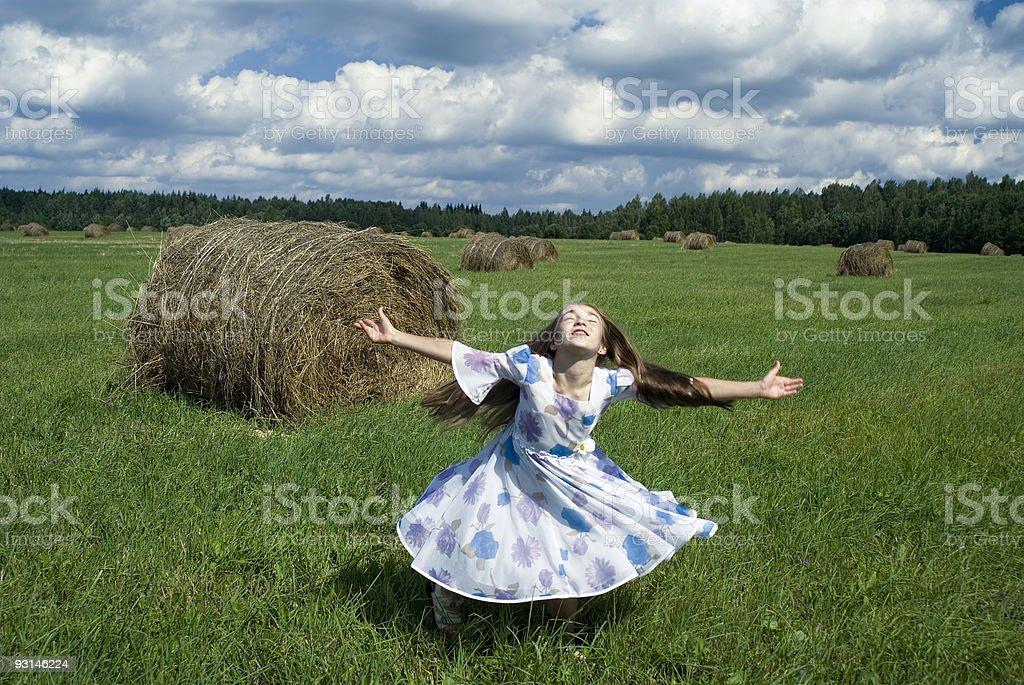 Dancing Girl IV royalty-free stock photo