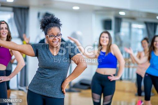 897892972 istock photo Dancing In Studio 1026617212