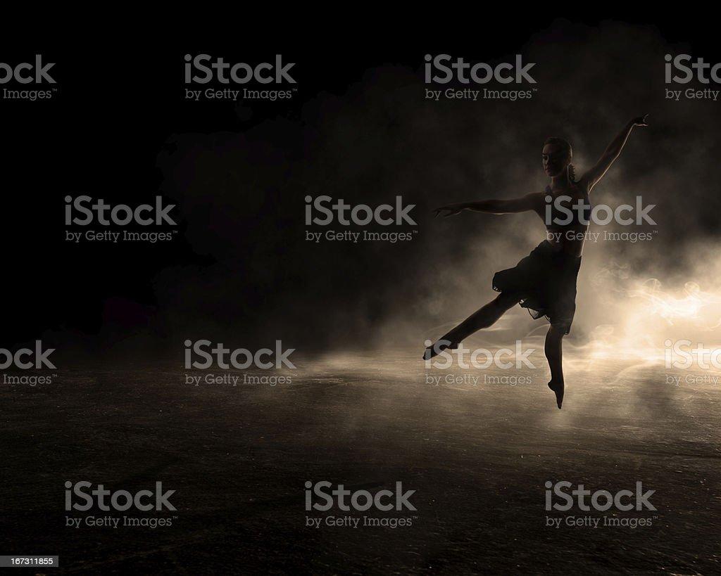 Dancing in the Dark stock photo