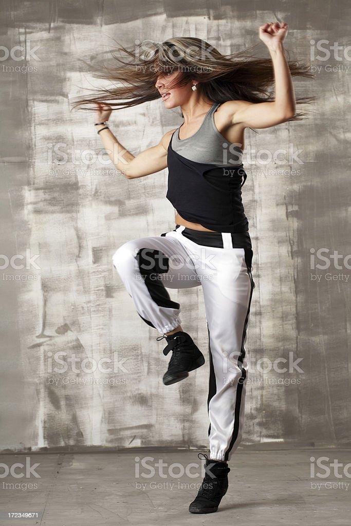 Baile baile moderno foto de stock libre de derechos