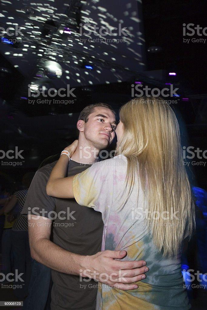 Dancing stock photo