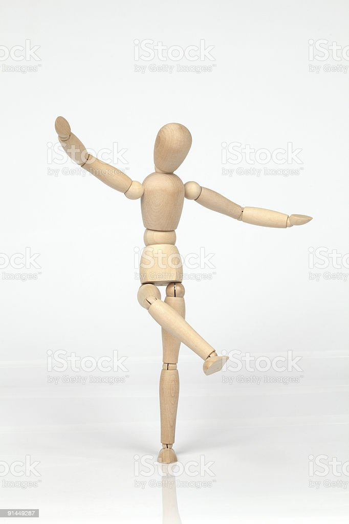 Dancing Puppet stock photo