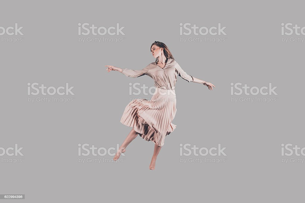 Dancing queen. stock photo
