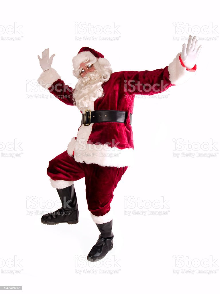 Dancing Santa Claus Stock Photo Download Image Now Istock