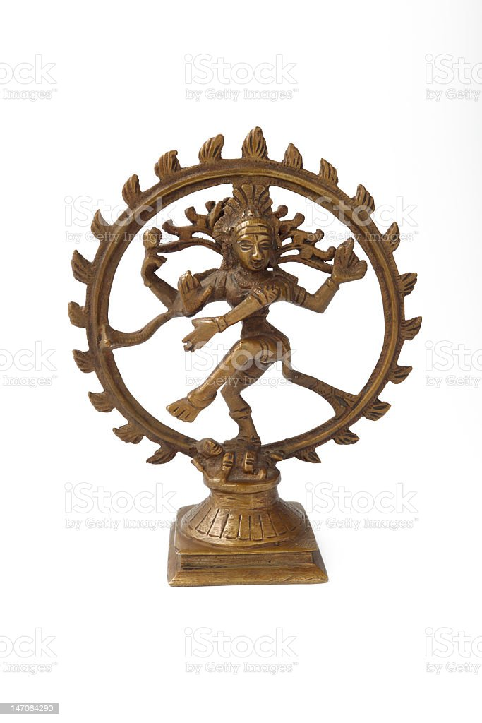 Dancing Shiva royalty-free stock photo
