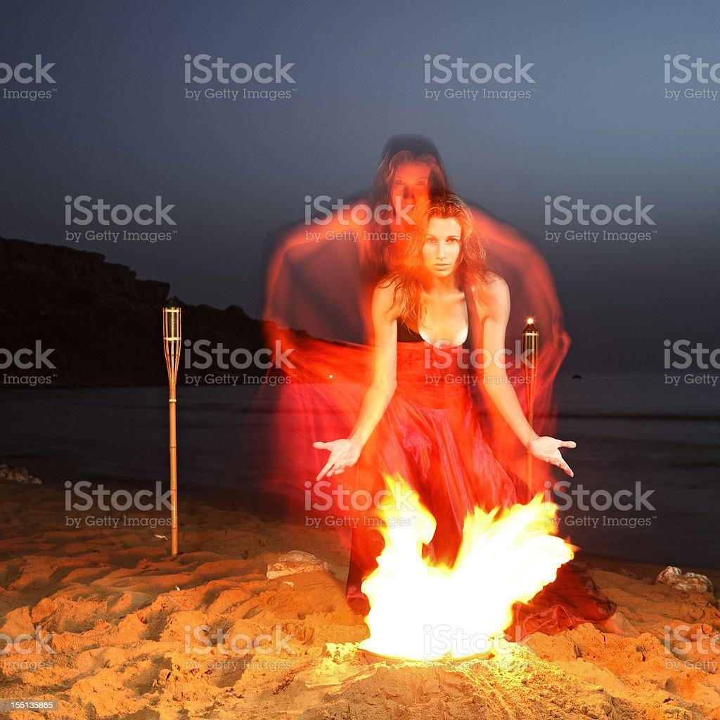 Dancing Spirits royalty-free stock photo