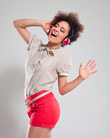 Dancing Teen Girl Stock Photo - Download Image Now