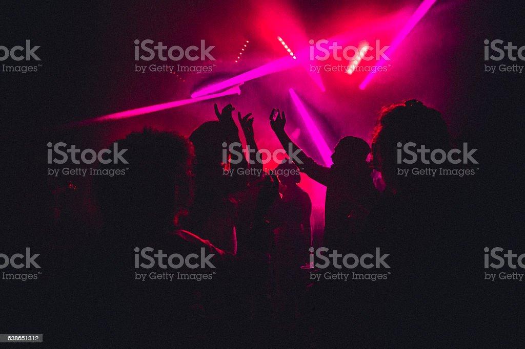 夜の踊り ロイヤリティフリーストックフォト