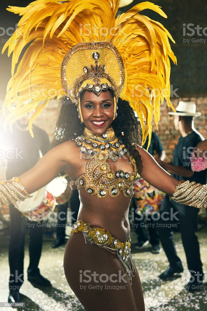 Dancing To The Beat Of Brazil Stock Photo - Download Image Now - iStock