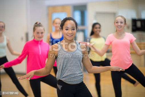 istock Dancing Together at the Gym 514739140