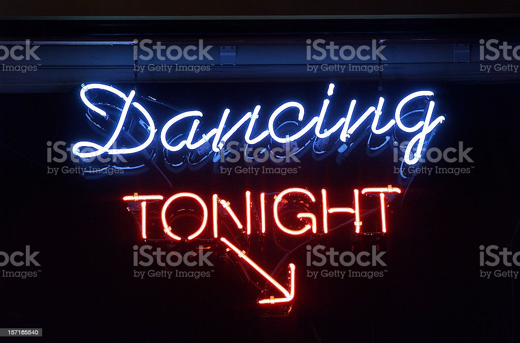 Dancing Tonight royalty-free stock photo
