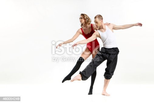 istock Dancing two people 460054249
