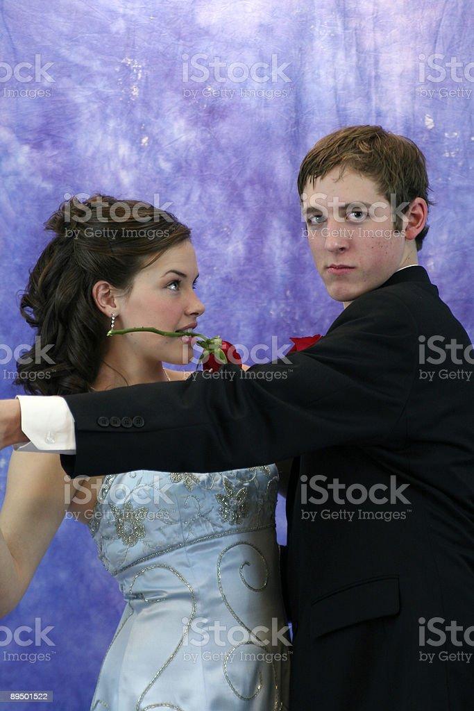 Ballare con Bond foto stock royalty-free