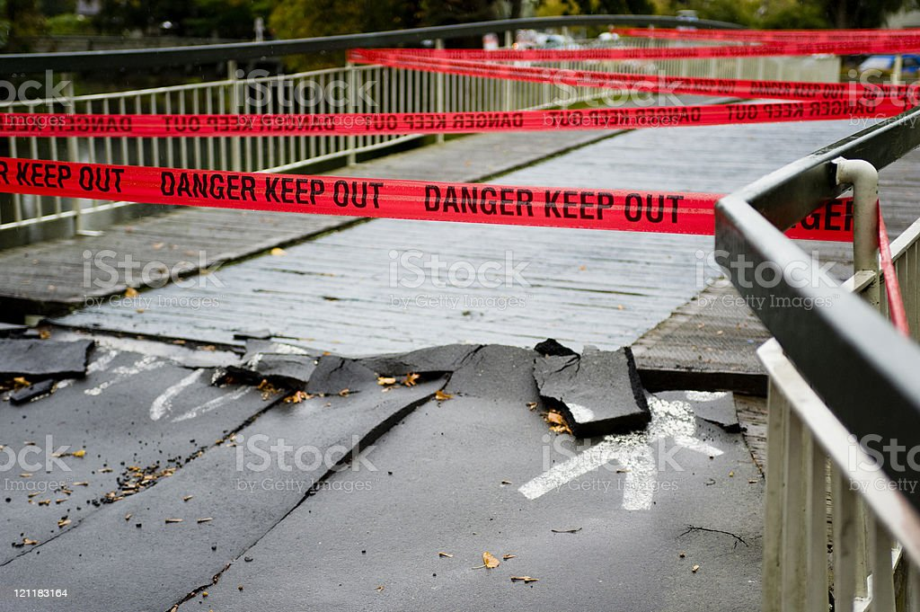 Dand Keep Out royalty-free stock photo