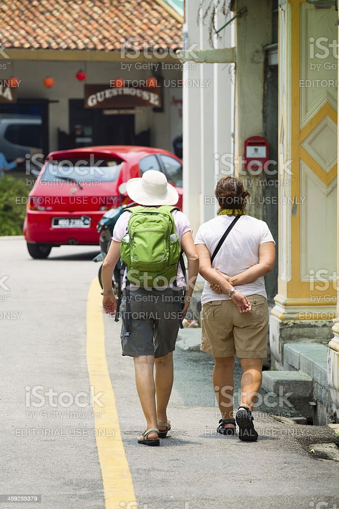 Dandering in Melaka royalty-free stock photo