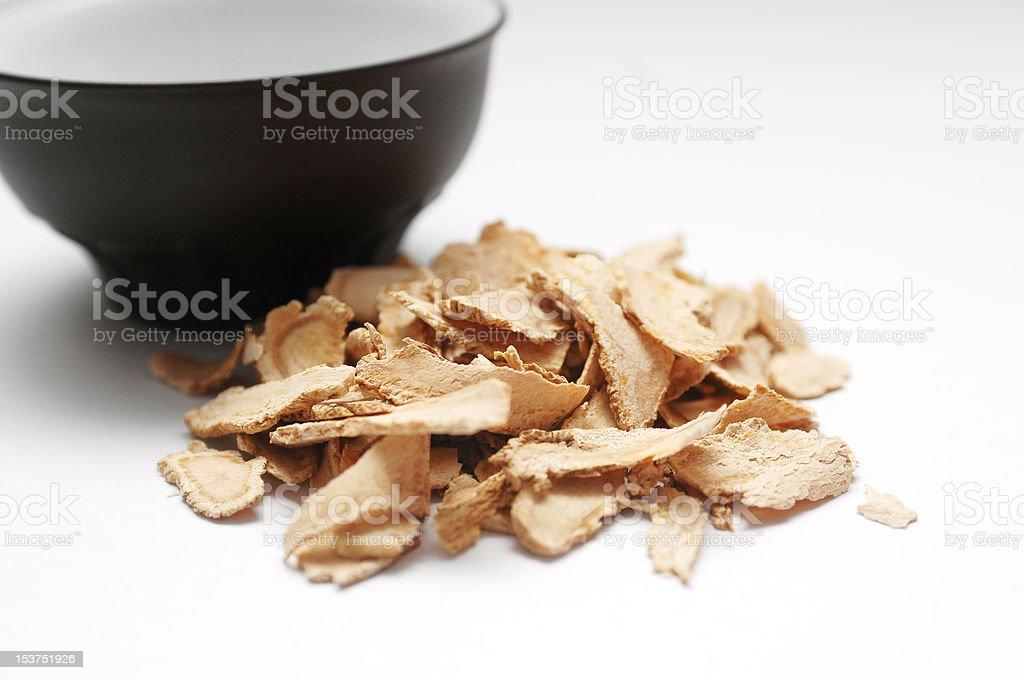 Dang Gui (Herbal Remedy) royalty-free stock photo