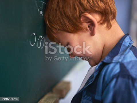 istock Dang it what did I do wrong 888791732
