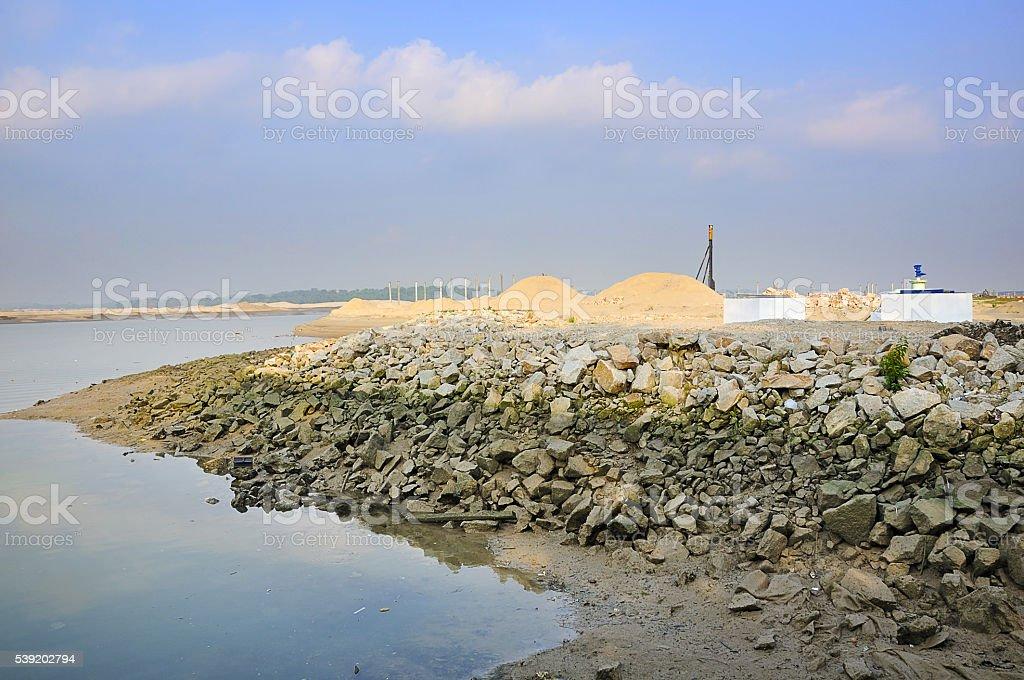 Danga Bay stock photo