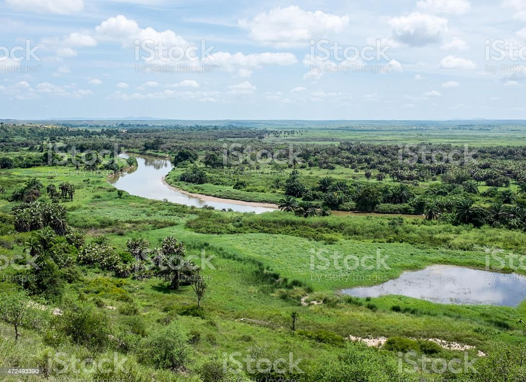 Dange River stock photo