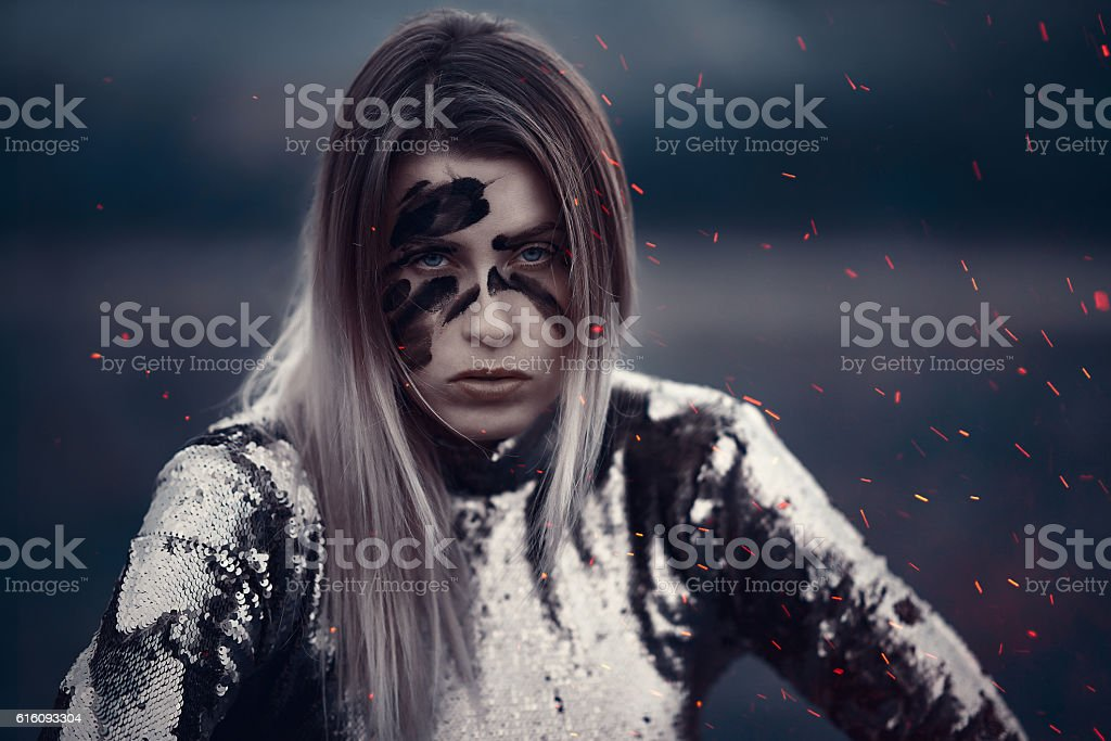 danger and warr stock photo