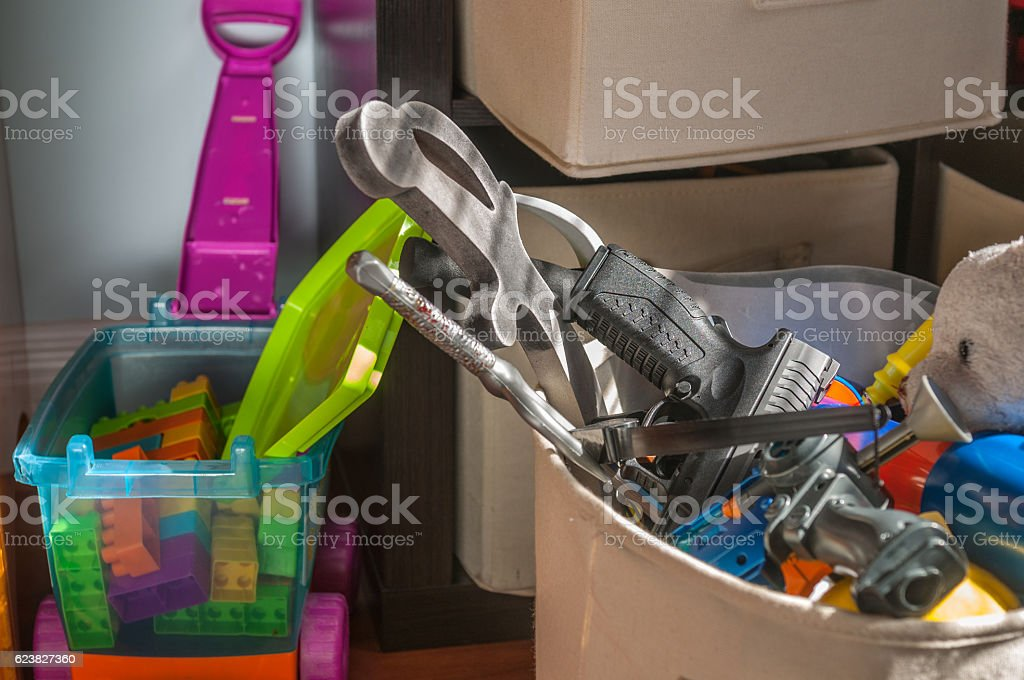 Danger At Home Royalty Free Stock Photo