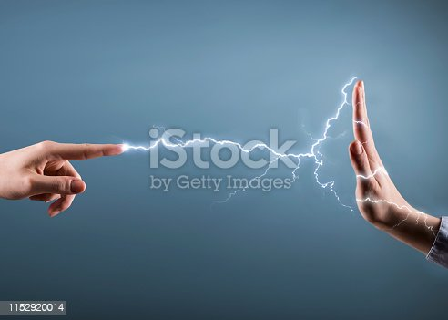 istock ELECTRICITY STRAINGHT / Danger concept  (Click for more) 1152920014