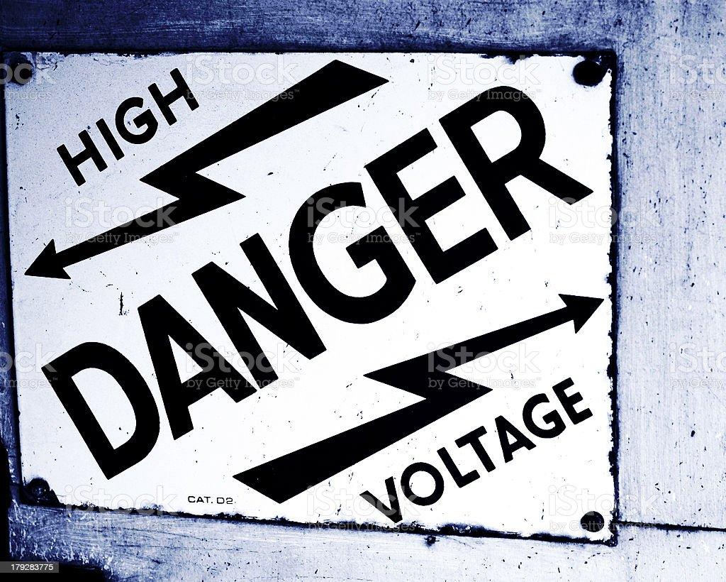 danger! danger! royalty-free stock photo