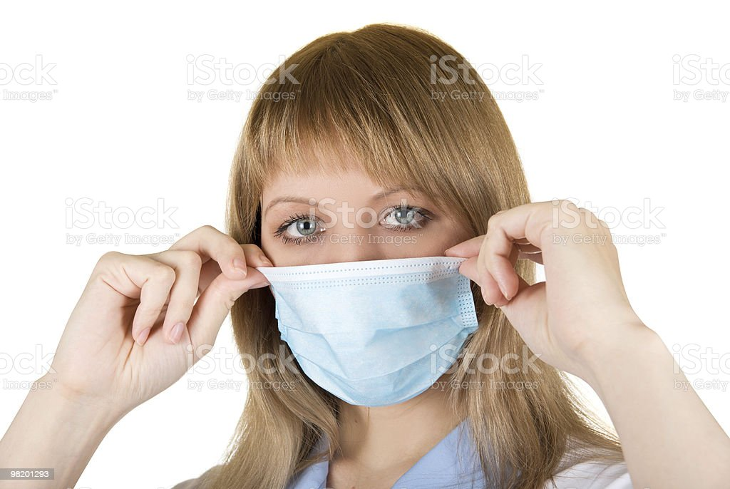 Danger Flu epidemic royalty-free stock photo