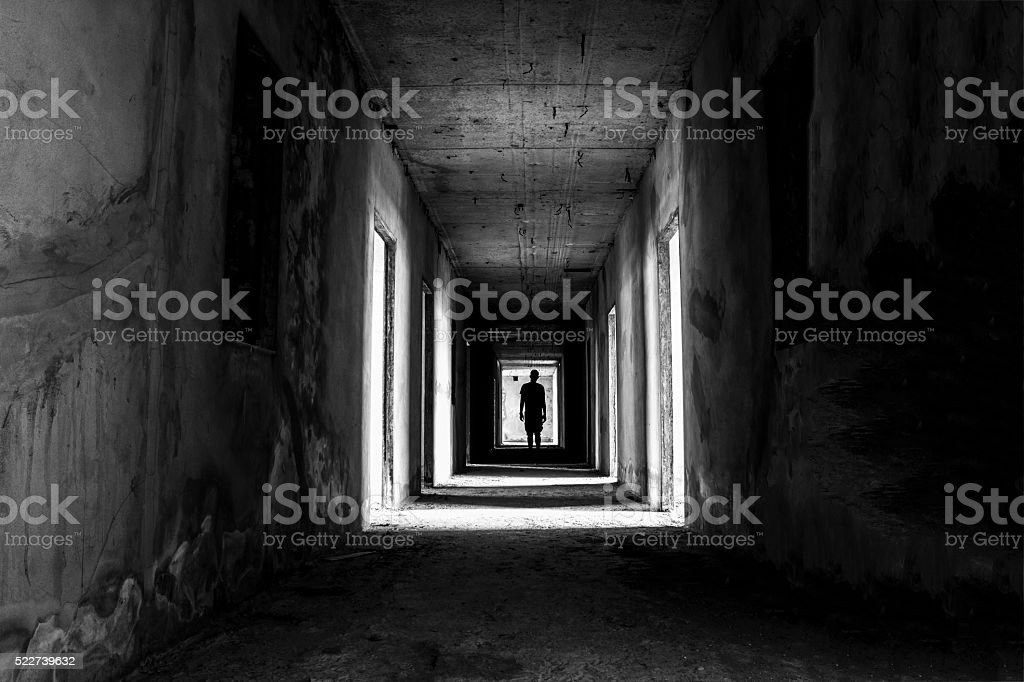 Danger horrible of abandoned buildings image of conceptual stock photo