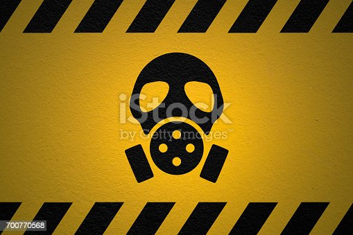 istock Danger Nuclear fallout sign 700770568