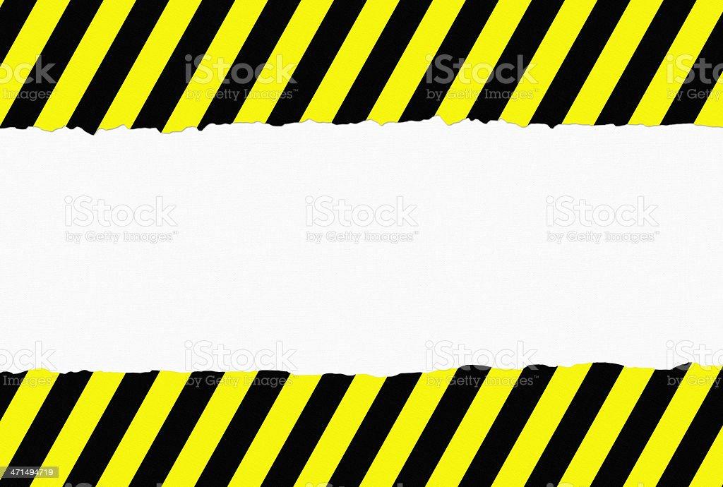Torn Paper Danger Background